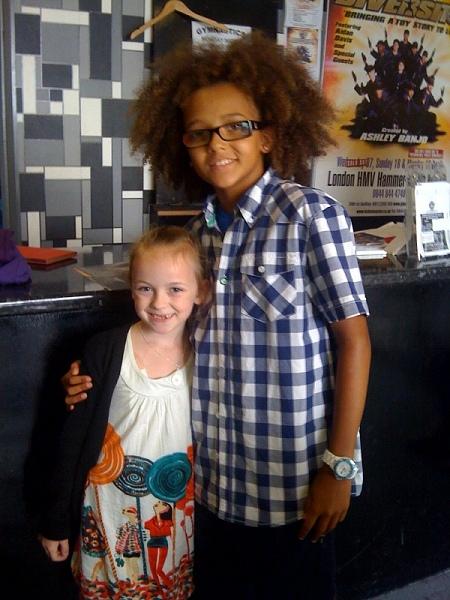 Daisy meeting Perry from Diversity
