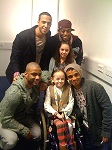 Daisy meeting JLS